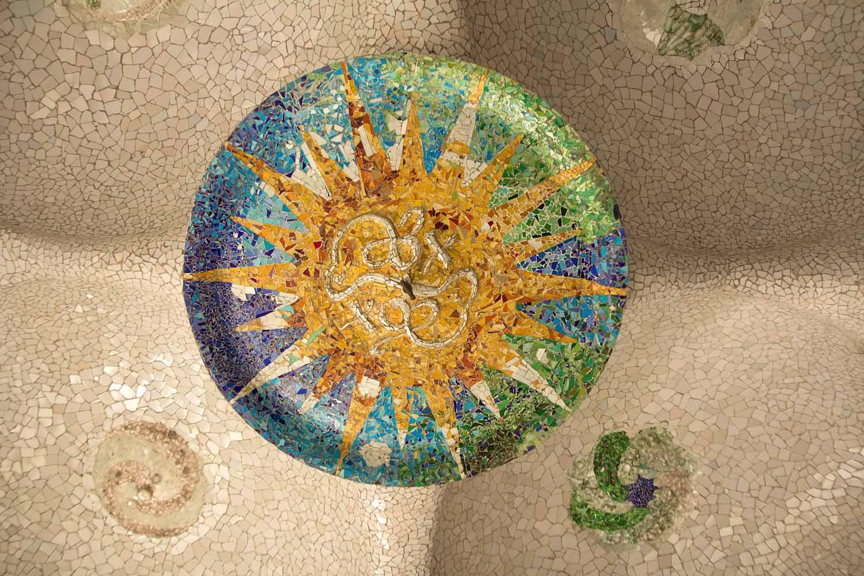 Park Güell, Mosaik V