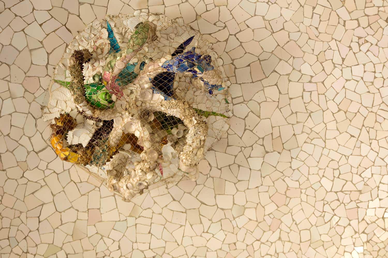Park Güell, Mosaik VI