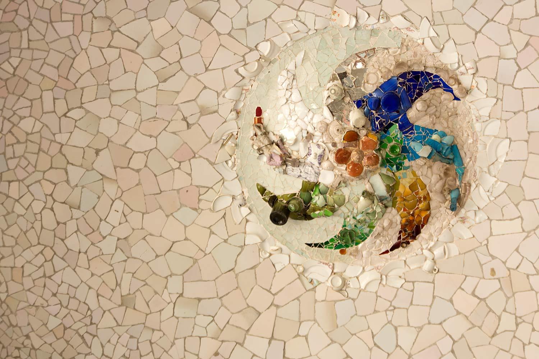 Park Güell, Mosaik VII