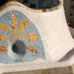 Park Güell, Mosaik VIII