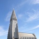 Hallgrímskirkja in Reykjavik I