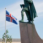 Statue Leif Erikssons I