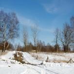 Wanderweg in der Döberitzer Heide