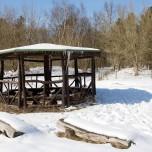Wanderhütte in der Döberitzer Heide