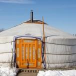 Mongolische Jurte in der Döberitzer Heide II