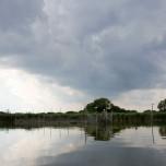 Paddeln auf dem Rietzer See
