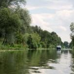 Zurück im Kanal