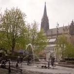 Elisabethkirche & Fasnachts-Brunnen