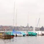 Blick über den Zürichsee I