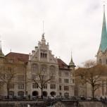 Stadthaus & Fraumünster