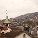 Blick vom Lindenhof auf Zürich I