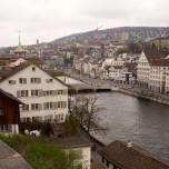Blick vom Lindenhof auf Zürich II