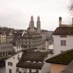 Blick vom Lindenhof auf Zürich III