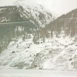 Winterlandschaft vom Glacier Express aus IV