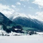Winterlandschaft vom Glacier Express aus V