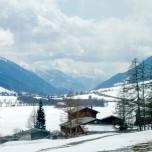 Winterlandschaft vom Glacier Express aus VI