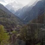 Mattertal,  vom Glacier Express aus gesehen II