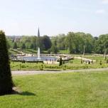 Blick auf Park und Potsdam