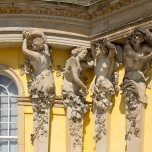 Bacchanten am Schloss Sanssouci