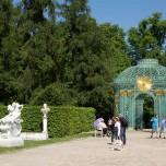 Auf der Schlossterrasse von Sanssouci
