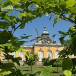 Neue Kammern und Mühle in Sanssouci