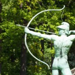 Bogenschütze in Sanssouci