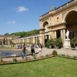 Obere Terasse der Orangerie von Sanssouci