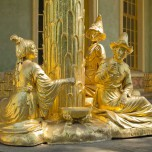 Figuren am Chinesischen Haus in Sanssouci