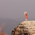 Spitzenmönch auf der Bastei