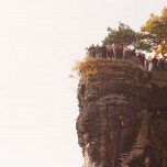 Aussichtspunkt auf der Bastei VII