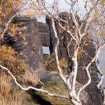 Felsenloch auf dem Lilienstein