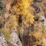 Südabstieg vom Lilienstein