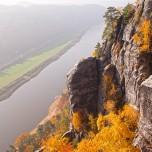 Blick auf die Elbe von der Bastei aus III