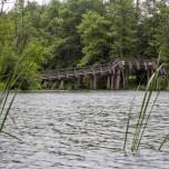Brücke über Drosedower Bek