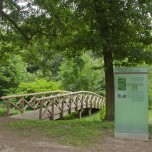Brücke im Park Reckahn