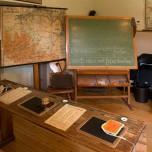 Altes Klassenzimmer im Schulmuseum Reckahn IV