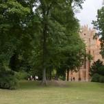 Westgiebel des Klosters Chorin