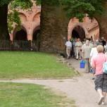 Eingang zum Innenhof von Kloster Chorin