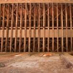 Dachkonstruktion in Kloster Chorin