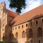 Westseite von Kloster Chorin