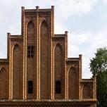 Giebel von Kloster Chorin