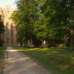 Rückblick auf Kloster Chorin