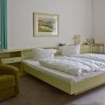 Das Schlafzimmer von Erich Honecker