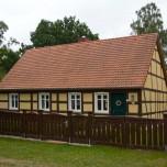 Restauriertes Haus in der Schorfheide