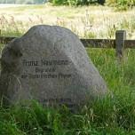 Gedenkstein für Franz Neumann