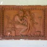 Relief im Pergolagarten