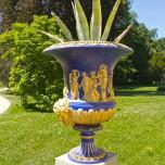 Vase am Schloss