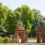 Tor zum Landgut Stober (damals A. Borsig)