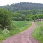 Wanderweg bei Bruch