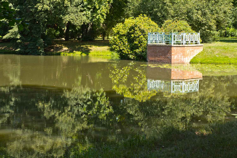 Branitzer Park: Fischbalkon I